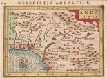 DESCRIPTIO ANDALUSIAE. MAPA DE ANDALUCIA OCCIDENTAL.